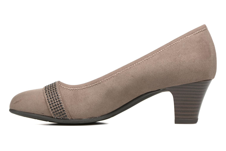 Pumps Jana shoes Carla 2 Beige voorkant