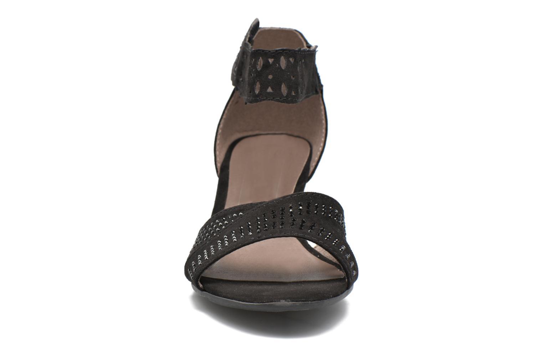Sandales et nu-pieds Jana shoes Koni Noir vue portées chaussures
