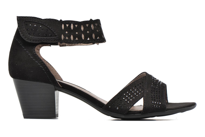 Sandales et nu-pieds Jana shoes Koni Noir vue derrière