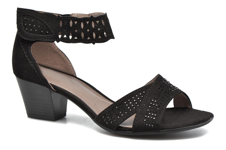 Sandales et nu-pieds Jana shoes Koni Noir vue détail/paire