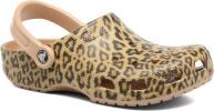 Zuecos Mujer Classic Leopard III Clog