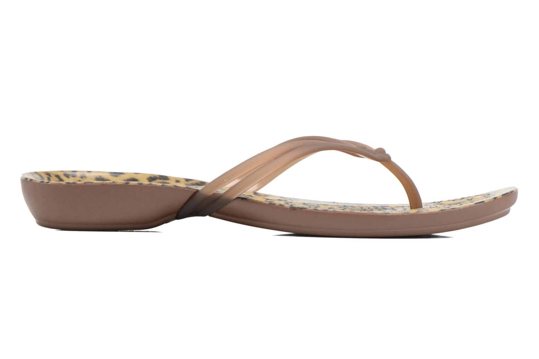 Tongs Crocs Crocs Isabella Graphic Flip W Multicolore vue derrière