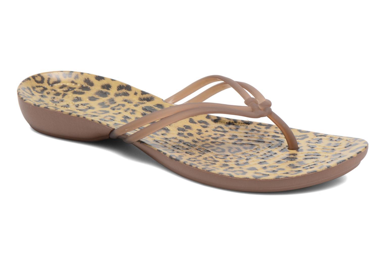 Tongs Crocs Crocs Isabella Graphic Flip W Multicolore vue détail/paire