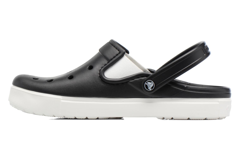 Sandales et nu-pieds Crocs CitiLane Clog Noir vue face