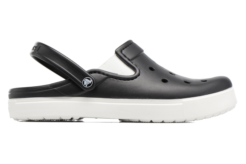Sandales et nu-pieds Crocs CitiLane Clog Noir vue derrière