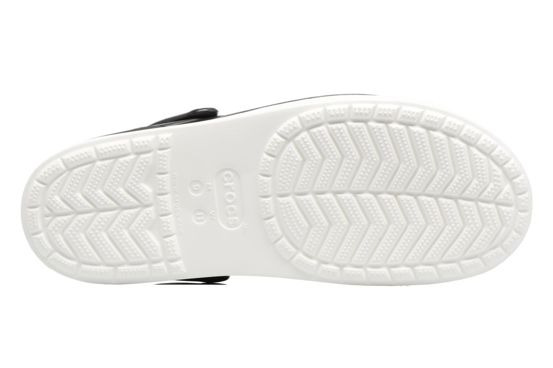 Sandales et nu-pieds Crocs CitiLane Clog Noir vue haut