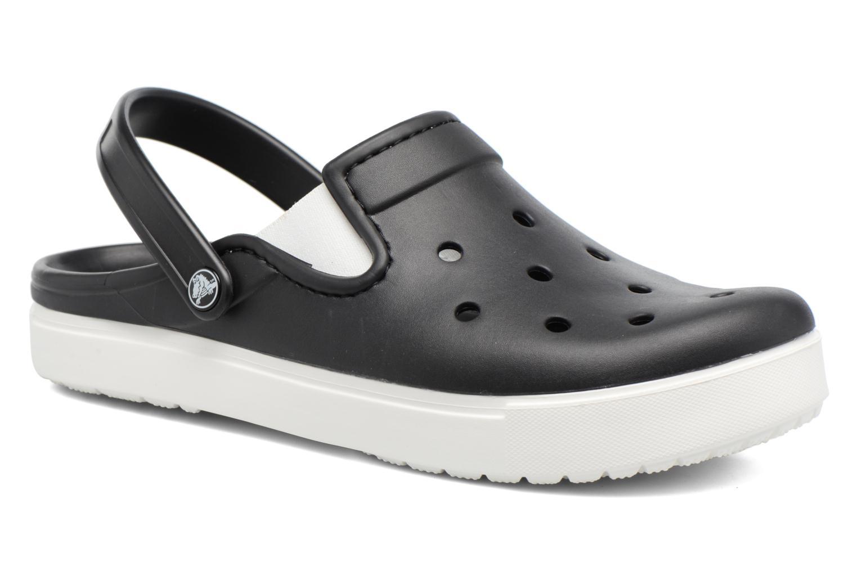 Sandales et nu-pieds Crocs CitiLane Clog Noir vue détail/paire