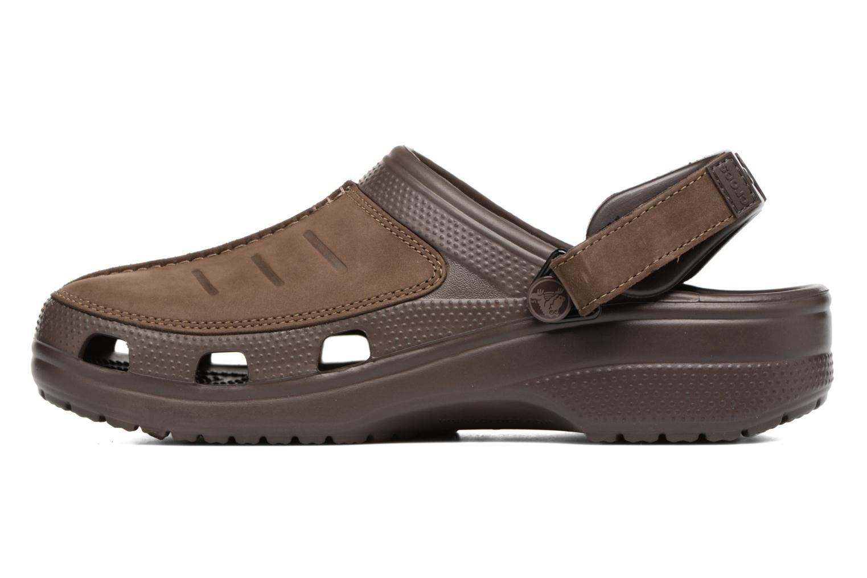 Sandales et nu-pieds Crocs Yukon Mesa Clog M Marron vue face