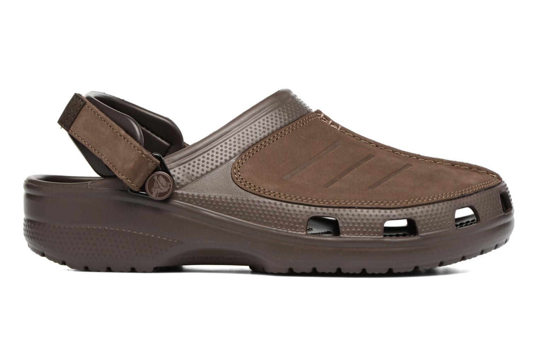 Sandales et nu-pieds Crocs Yukon Mesa Clog M Marron vue derrière