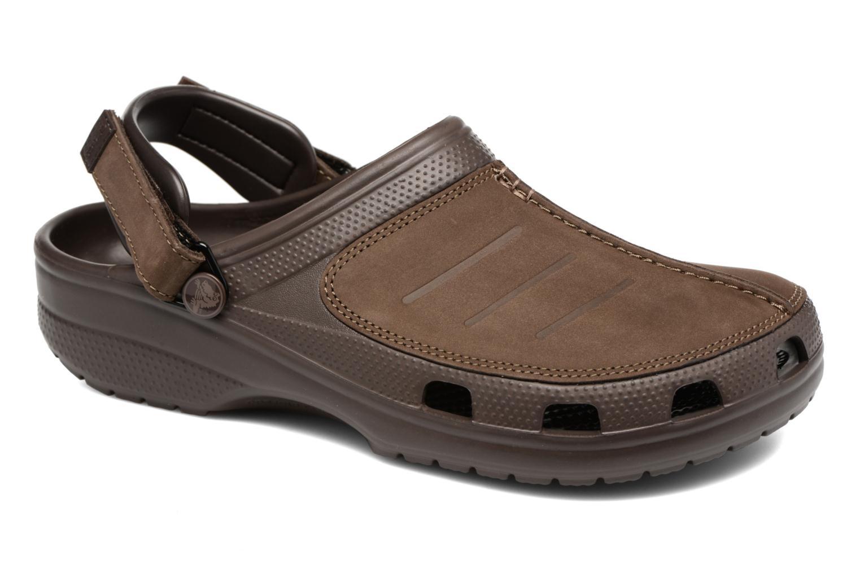 Sandales et nu-pieds Crocs Yukon Mesa Clog M Marron vue détail/paire