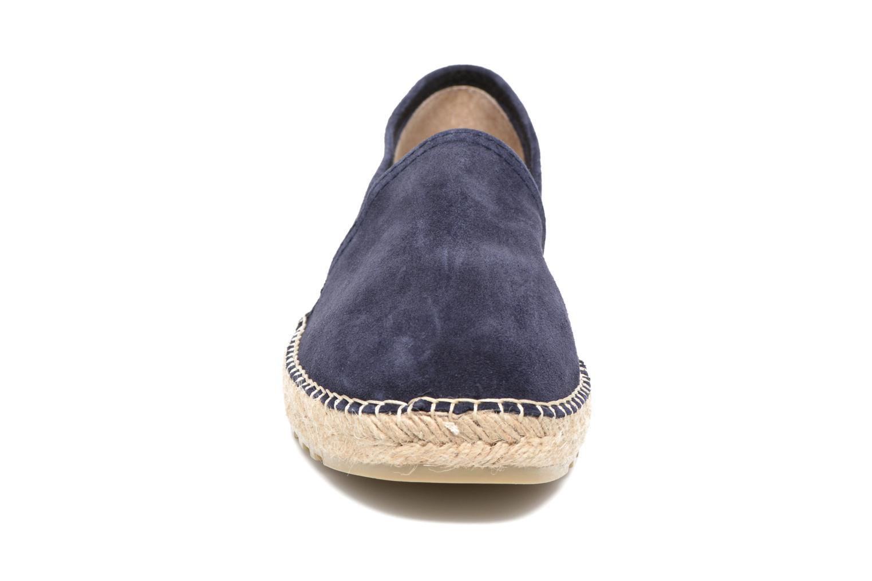 Espadrilles La maison de l'espadrille 1017 Bleu vue portées chaussures