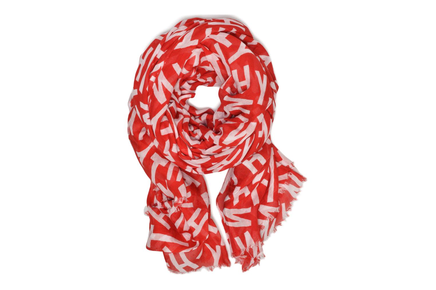 TH Logo Scarf Apple red