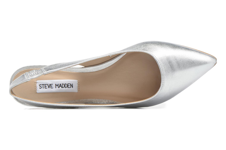 Ballerina's Steve Madden Villa Sandal Zilver links