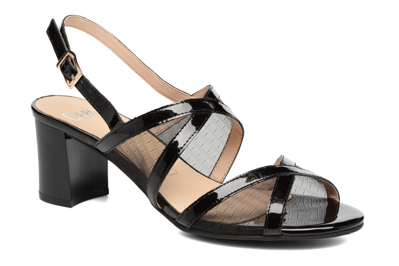 Sandales et nu-pieds Caprice Blanka Noir vue détail/paire