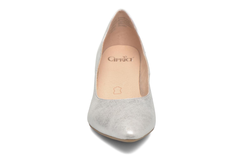 Escarpins Caprice Eva Argent vue portées chaussures