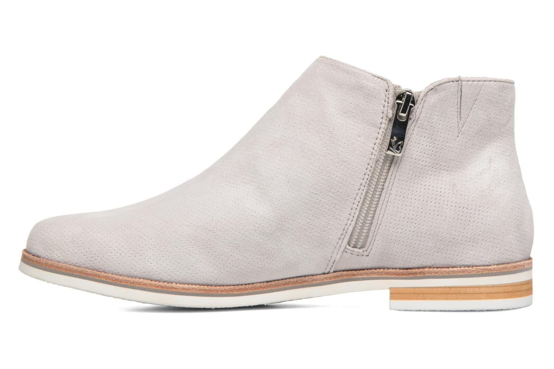 Bottines et boots Caprice Julia Gris vue face