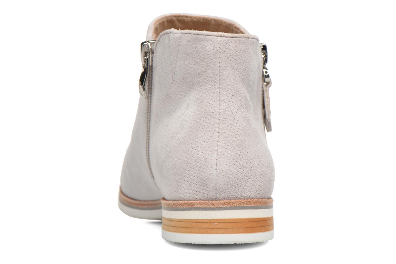 Bottines et boots Caprice Julia Gris vue droite