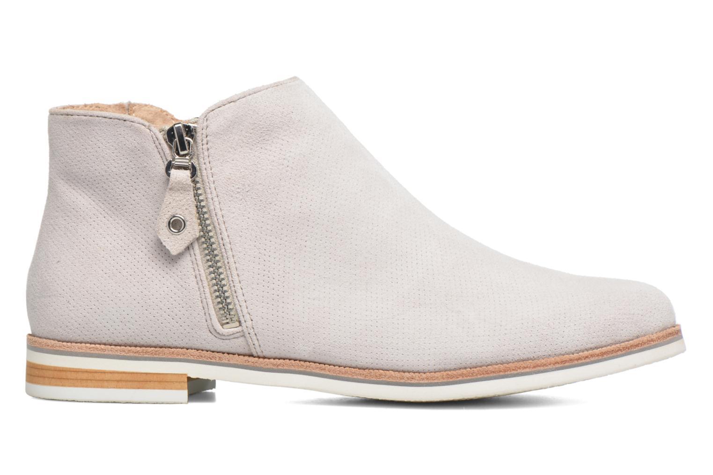 Bottines et boots Caprice Julia Gris vue derrière