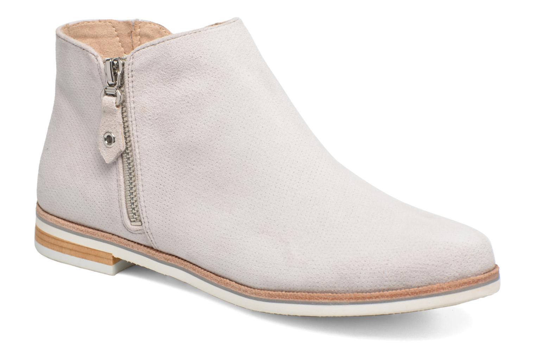 Bottines et boots Caprice Julia Gris vue détail/paire