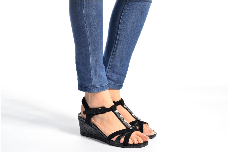 Sandales et nu-pieds Stonefly Sweet III 2 Noir vue bas / vue portée sac