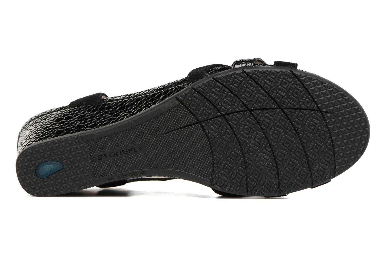 Sandales et nu-pieds Stonefly Sweet III 2 Noir vue haut