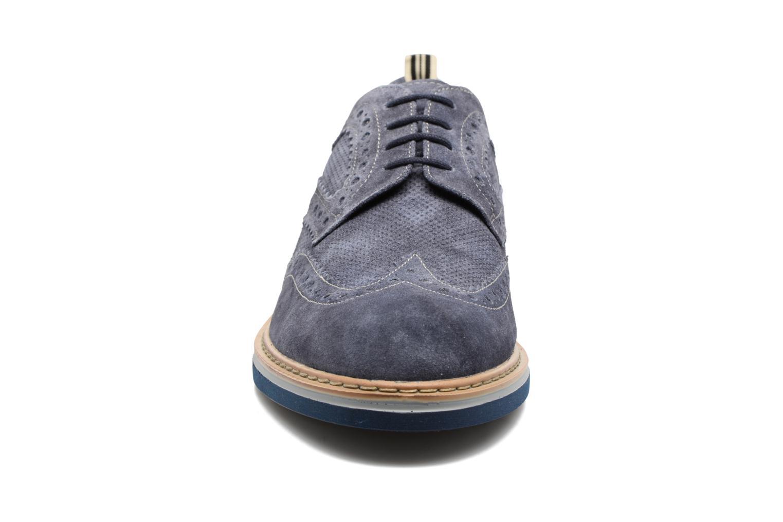 Zapatos con cordones Stonefly Alby 1 Azul vista del modelo