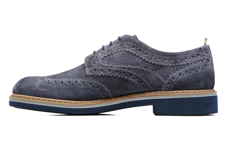 Zapatos con cordones Stonefly Alby 1 Azul vista de frente