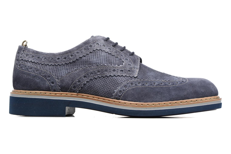 Zapatos con cordones Stonefly Alby 1 Azul vistra trasera