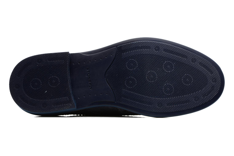 Zapatos con cordones Stonefly Alby 1 Azul vista de arriba