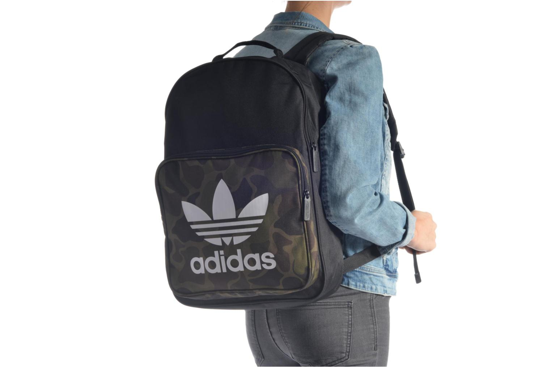 Sacs à dos Adidas Originals CLASSIC BP CAMO Sac à dos Noir vue haut
