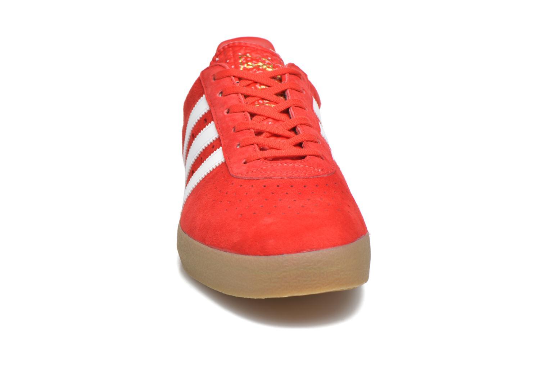 Baskets Adidas Originals Adidas 350 Rouge vue portées chaussures