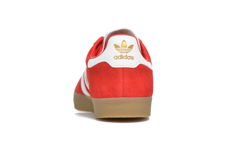 Baskets Adidas Originals Adidas 350 Rouge vue droite