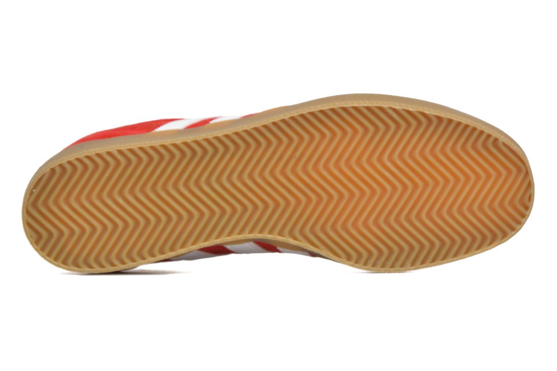 Baskets Adidas Originals Adidas 350 Rouge vue haut