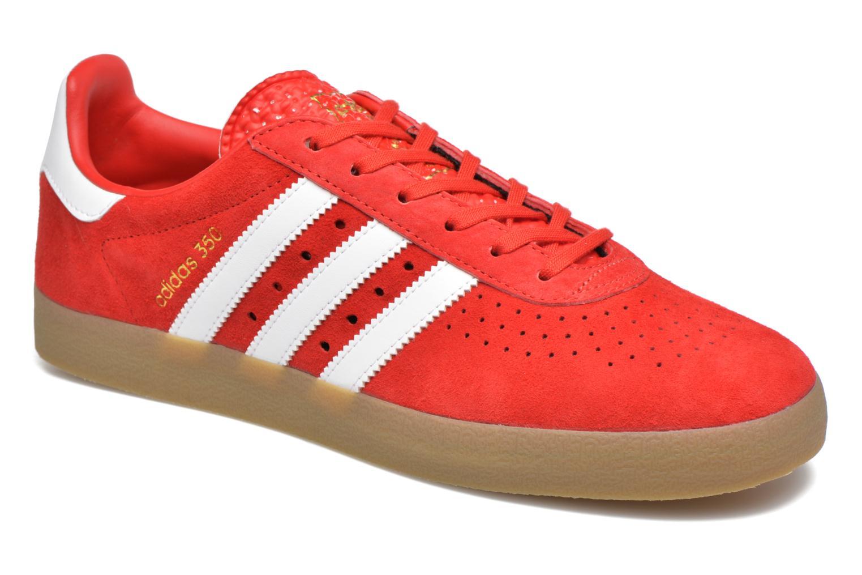 Baskets Adidas Originals Adidas 350 Rouge vue détail/paire