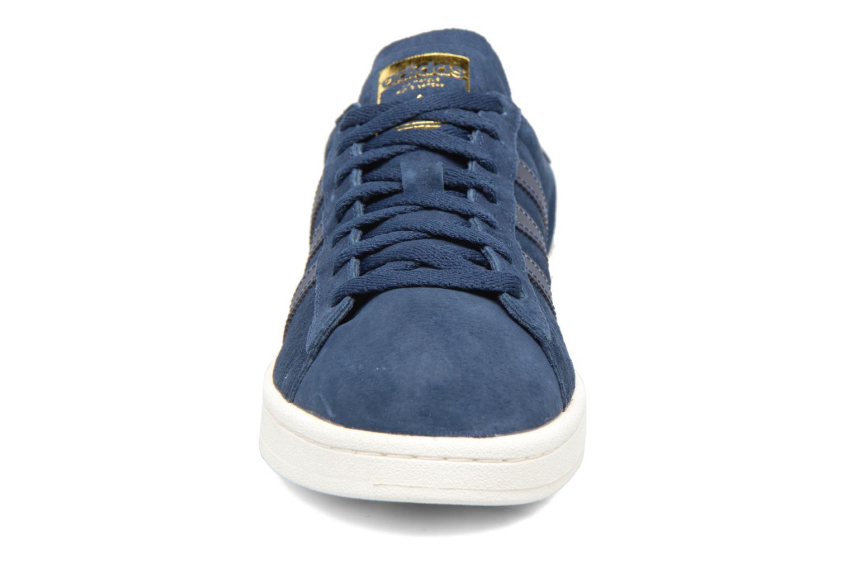 Baskets Adidas Originals Campus Bleu vue portées chaussures