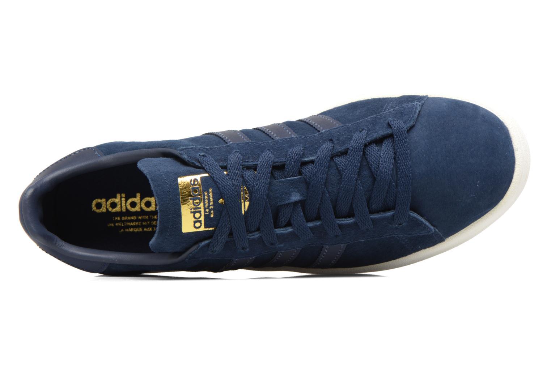 Baskets Adidas Originals Campus Bleu vue gauche
