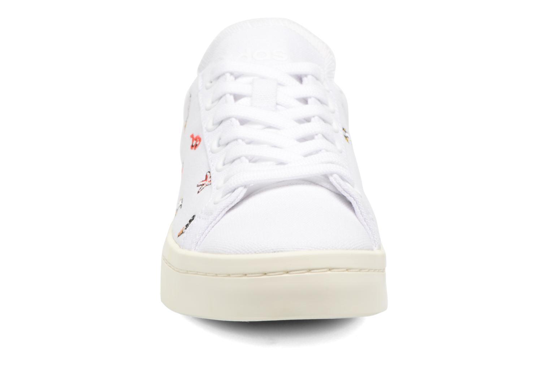 Adidas Originals Courtvantage W Wit Outlet Echte Fake Online Nieuw Bezoek Van Goedkope Online Goedkope Koop Met Creditcard Kopen Goedkope Nieuwste Collecties LQkYXE