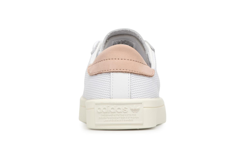 Sneaker Adidas Originals Courtvantage W weiß ansicht von rechts