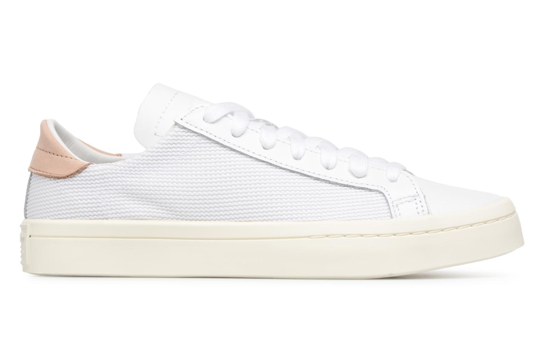 Sneaker Adidas Originals Courtvantage W weiß ansicht von hinten