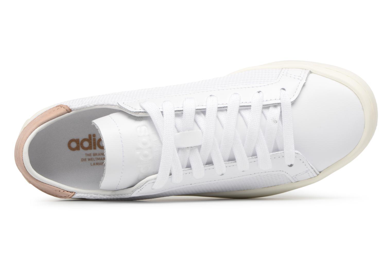 Sneaker Adidas Originals Courtvantage W weiß ansicht von links