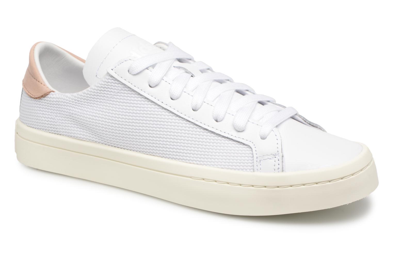 Sneaker Adidas Originals Courtvantage W weiß detaillierte ansicht/modell
