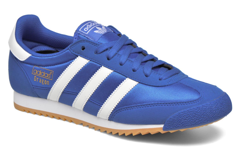 Sneakers Adidas Originals Dragon Og Blauw detail