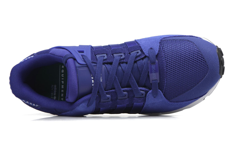 Baskets Adidas Originals Eqt Support Rf Bleu vue gauche