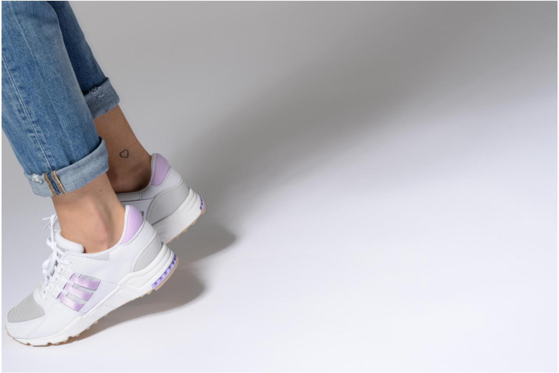 Baskets Adidas Originals Eqt Support Rf W Violet vue bas / vue portée sac