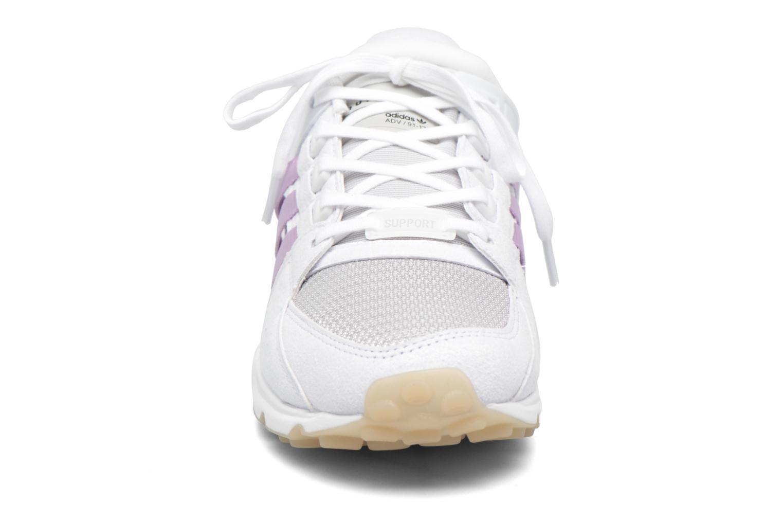 Baskets Adidas Originals Eqt Support Rf W Violet vue portées chaussures