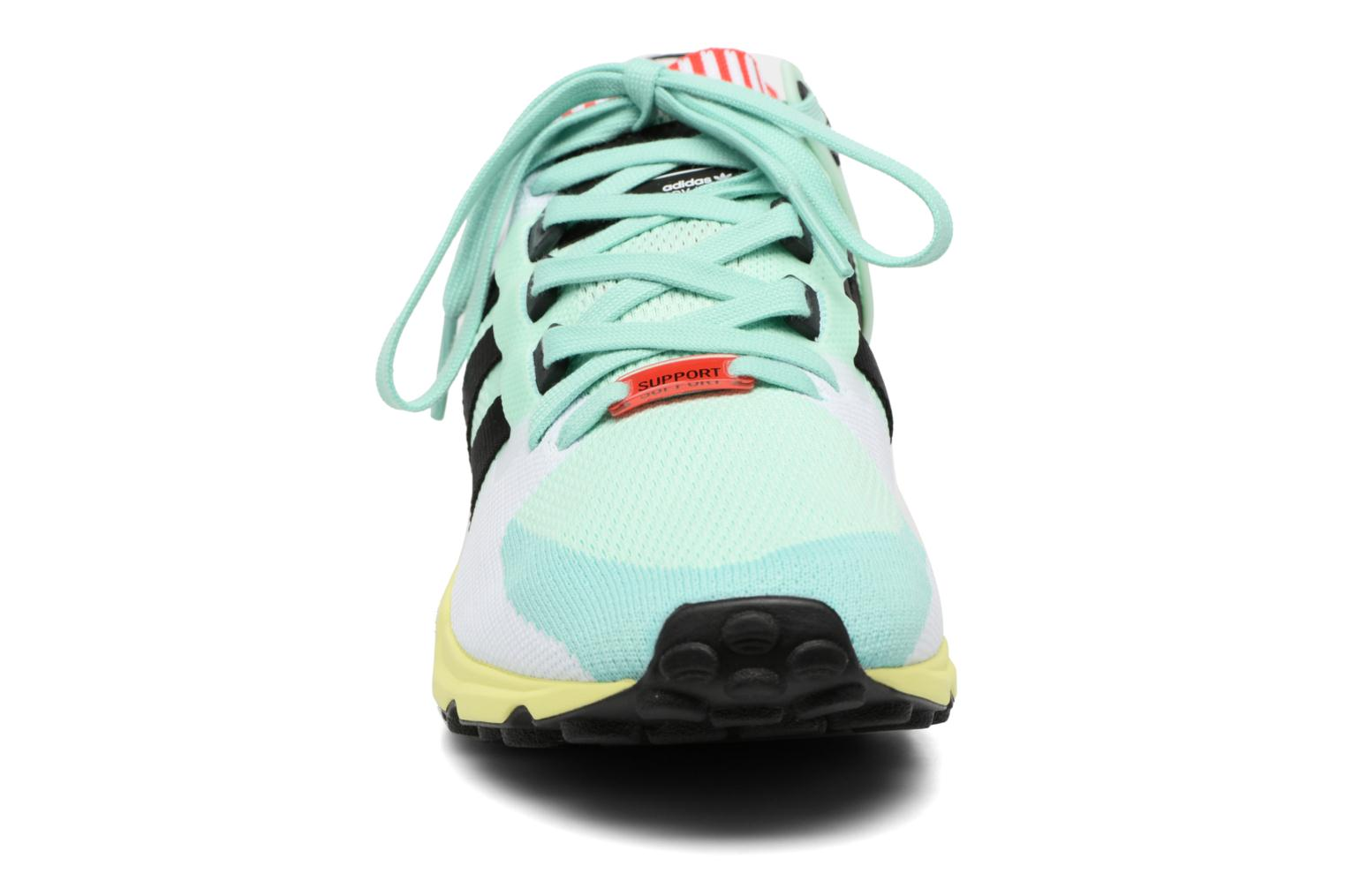 Baskets Adidas Originals Eqt Support Rf Pk Multicolore vue portées chaussures