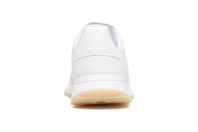 Deportivas Adidas Originals Flb W Blanco vista lateral derecha