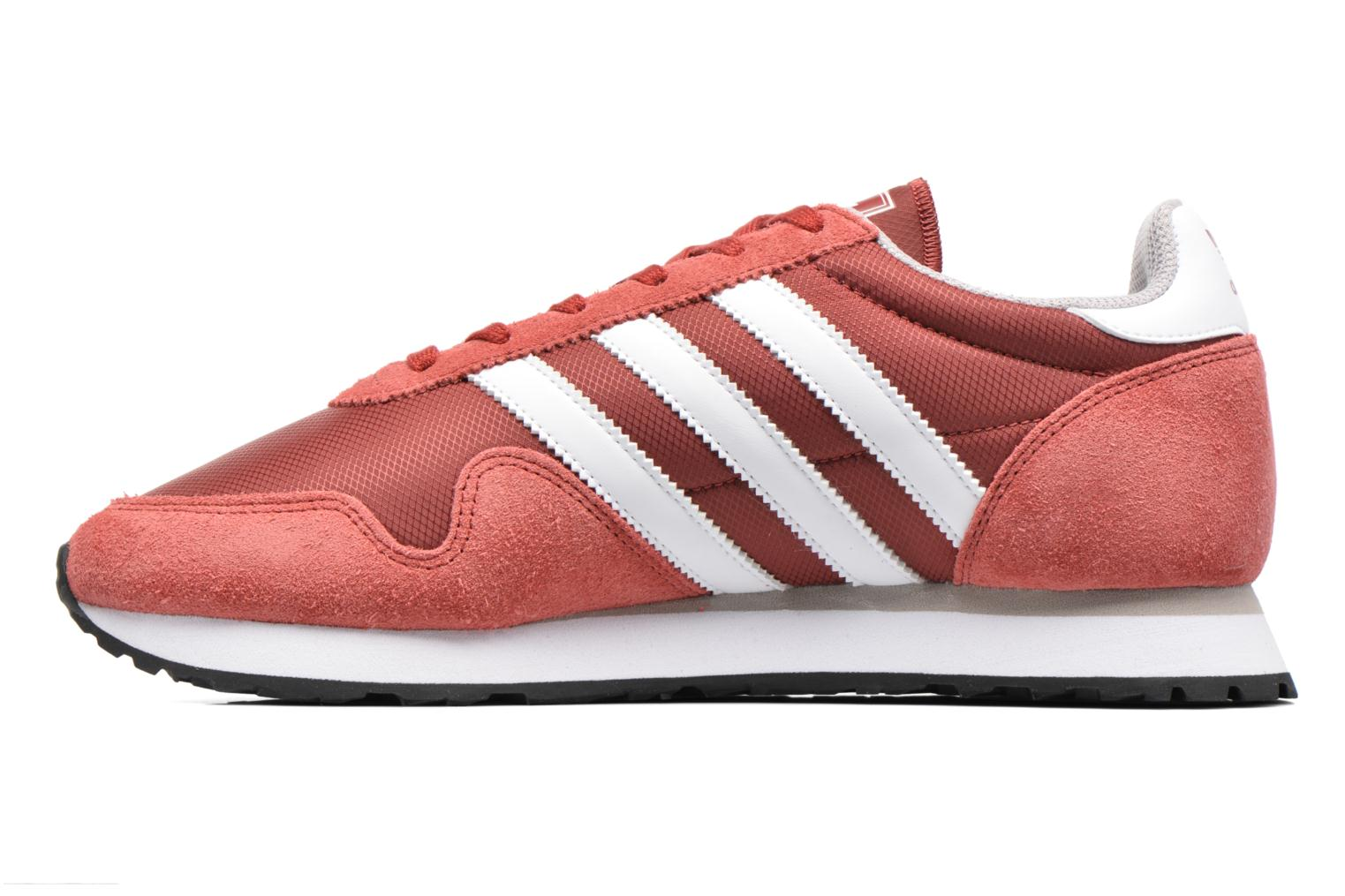Baskets Adidas Originals Haven Rouge vue face