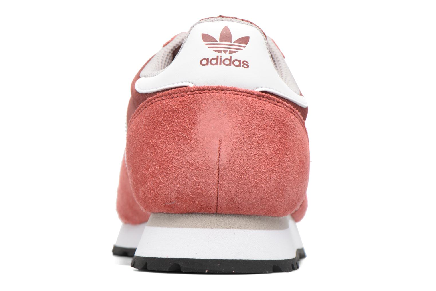 Baskets Adidas Originals Haven Rouge vue droite