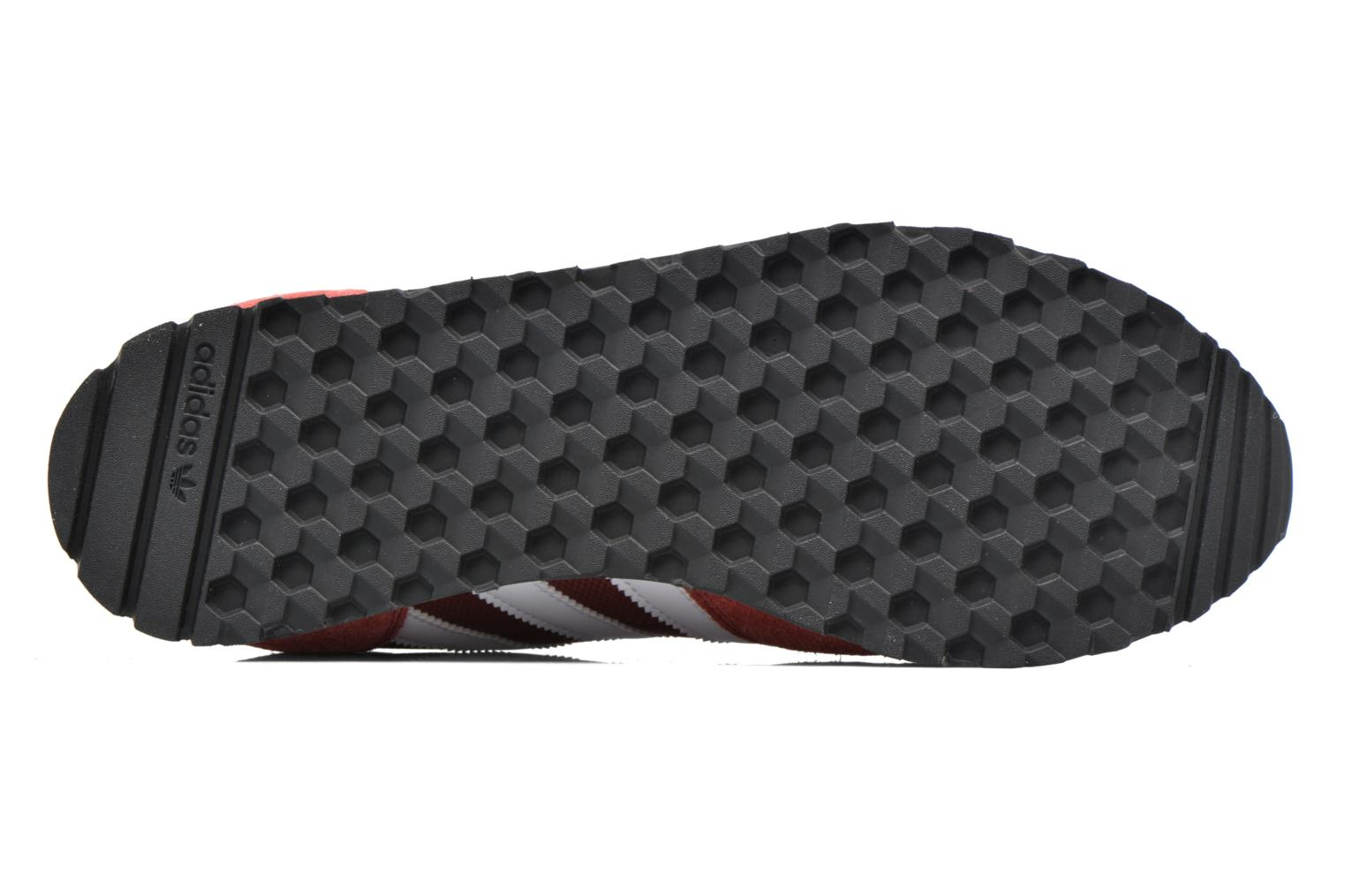Baskets Adidas Originals Haven Rouge vue haut